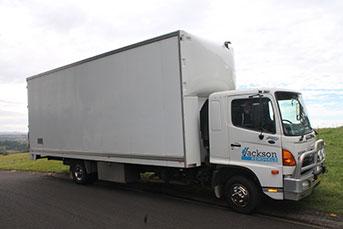 Jackson Removals Truck